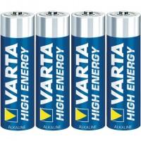 Ansmann Mignon / AA / LR6 x4, Single-use battery, AA, Alcaline, 1,5 V, 4 pièce(s), Noir