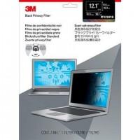 """Filtre de confidentialité 3M pour ordinateur portable à écran panoramique 30.734 cm (12.1"""") (format 16:10) (PF121W1B)"""