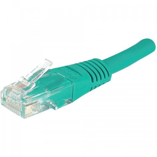 C ble r seau rj45 vert mcl cat gorie 5 droit 2 00 m pour - Categorie cable ethernet ...