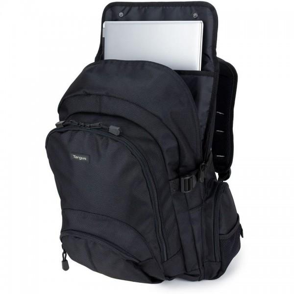 sac dos noir targus jusqu 39 16 pouces pour ordinateur portable targus cn600 ufp online. Black Bedroom Furniture Sets. Home Design Ideas