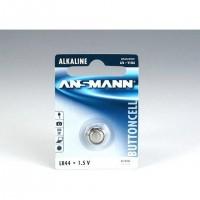 Ansmann Alkaline Battery LR 44, Single-use battery, Alcaline, 1,5 V, 1 pièce(s), LR 44