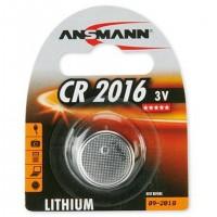 Ansmann CR 2016, Single-use battery, CR2016, Lithium-Ion (Li-Ion), 3 V, 1 pièce(s), Nickel