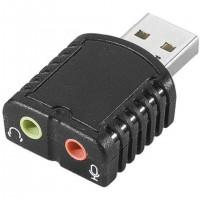 Mini Carte Son USB Entree/Sortie