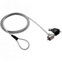 Câble de sécurité antivol MCL à encoche système à clef - 1,80m