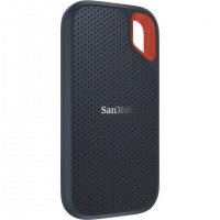 Sandisk Extreme, 500 Go, USB Type-C, 3.2 Gen 2 (3.1 Gen 2), 550 Mo/s, Protection par mot de passe, Gris, Orange