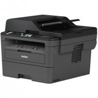 Brother MFC-L2710DN, Laser, Impression mono, 1200 x 1200 DPI, Copie simple, A4, Noir, Gris