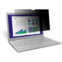 """Filtre de confidentialité 3M pour ordinateur portable à écran panoramique 15,6"""" bord-à-bord (PF156W9E)"""