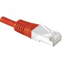 EXC 856838, 0,7 m, Cat6, S/FTP (S-STP), RJ-45, RJ-45, Rouge
