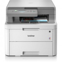 Brother DCP-L3510CDW, LED, Impression couleur, 2400 x 600 DPI, Copie couleur, A4, Gris