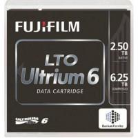 Fujifilm LTO Ultrium 6 tape, LTO, 2500 Go, 6500 Go, 1000000 passages, 30 année(s), 160 Mo/s