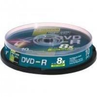 Fujifilm DVD-R 4,7Gb 10-Spindle 16x, 4,7 Go, 120 mm, 10 pièce(s), 120 min, 45 - 85%, 0,74 µm