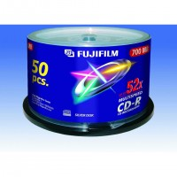 Fujifilm 47238, CD-R, 700 Mo, 50 pièce(s), 120 mm, 80 min, 52x